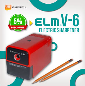 ELM Electric Sharpener V-6