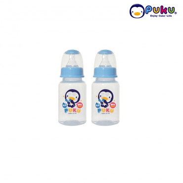 Puku PP Feeding Bottle 120cc - 10186 (2 Pcs ) Botol Susu