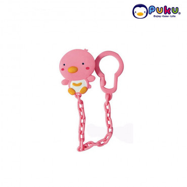 PUKU Pacifier Chain 11105-Pink