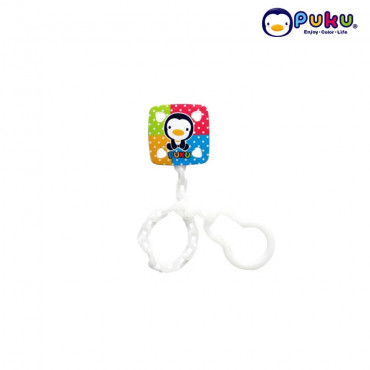 Puku Pacifier Chain P11112 (New model )Squarish