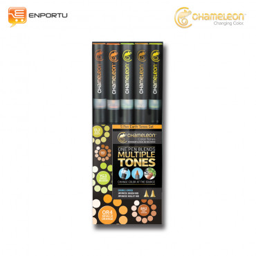 CHAMELEON 5 Pen Earth Tones Set