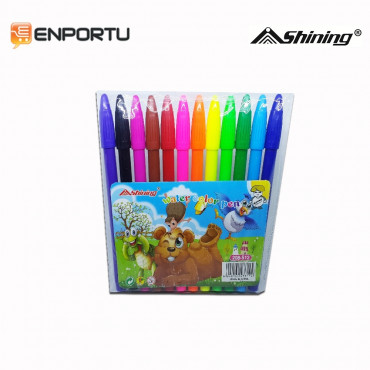 Shining Water Color Pen 12 Colors 208-S12