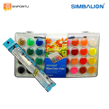 Paket Simbalion Watercolor Set