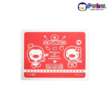 PUKU Silicone Place Mat P14325- Red