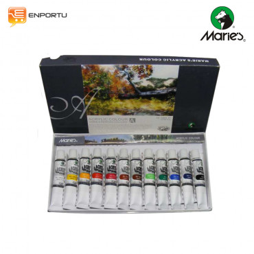 MARIE`S Acrylic Set 12 Colors
