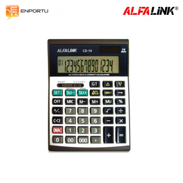 Calculator Alfalink CD-14 = CD-14 A