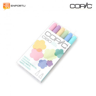 COPIC Ciao 6pcs Pastel Set