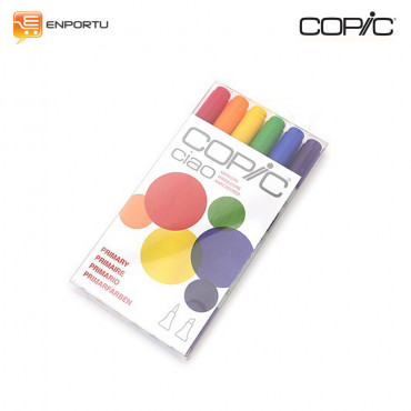COPIC Ciao 6pcs Primary Set