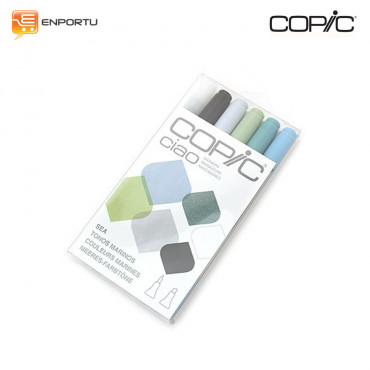 COPIC Ciao 6pcs Sea Set