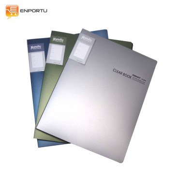 KINARY - Clear Book Metallic/HL-820 (A4)