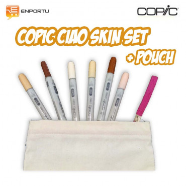 Copic Ciao Skin Set + Pouch