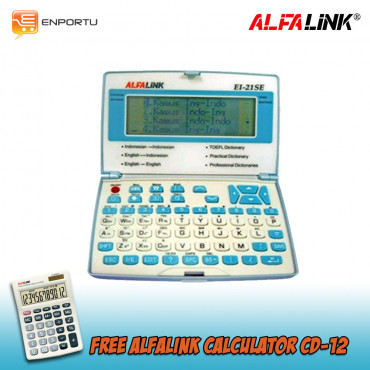 Alfalink - EI-21 SE + free Calculator CD-12
