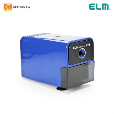 ELM Electric Sharpener V-6 Biru