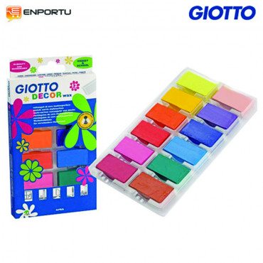 Jual Soft Pastel - GIOTTO Decor Wax