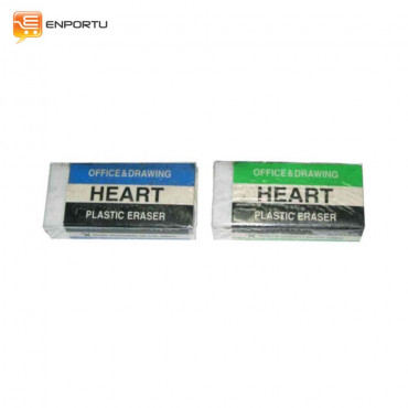 Erasers Heart Stationery H-96008