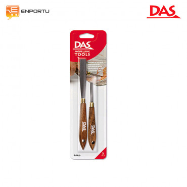 DAS Metal Spatula Modelling Tools 2 Pcs/set