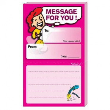 Stick'n Secret Note 21045 Message For You Pink