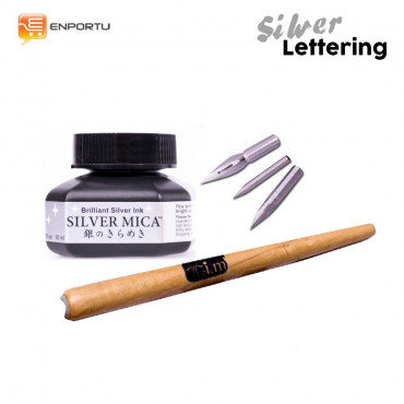 Paket Silver Lettering