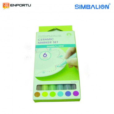 SIMBALION Ceramic Marker Set – 1 mm DI-CR6/1