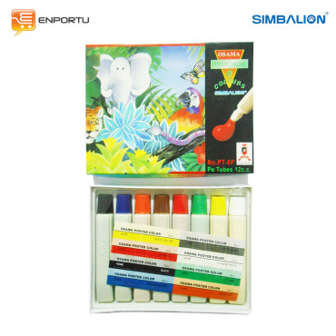 SIMBALION Poster Color 12 cc PT-8P