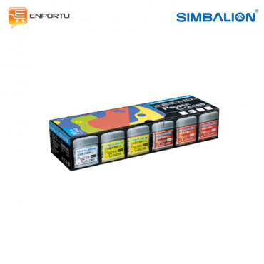 Simbalion Poster Color Bottle 30cc Set 12 colors