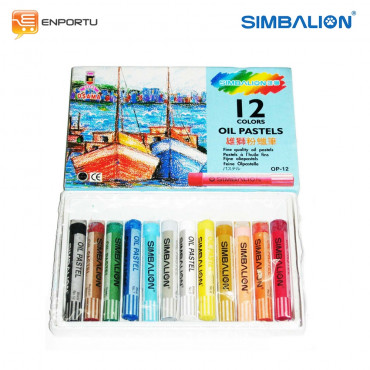 SIMBALION Regular Kapal Paper case 12 Colors OP12W