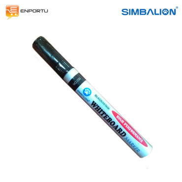 SIMBALION Spidol Whiteboard Black
