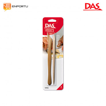 DAS Wooden Cutters Modelling Tools 2Pcs/Set
